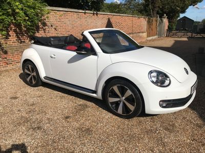 Volkswagen Beetle Convertible 2.0 TDI BlueMotion Tech Sport Cabriolet DSG (s/s) 2dr