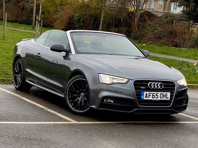 Audi A5 Cabriolet Convertible 3.0 TDI S line Special Edition Plus Cabriolet S Tronic quattro (s/s) 2dr