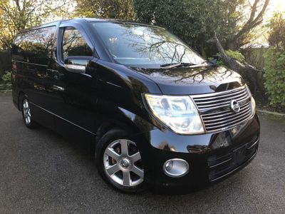 Nissan Elgrand MPV Highway Star 2.5 v6 Tiptronic 8 Seats 5dr