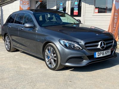 Mercedes-Benz C Class Estate 2.0 C350e 6.4kWh Sport (Premium Plus) G-Tronic+ (s/s) 5dr 18in Alloy