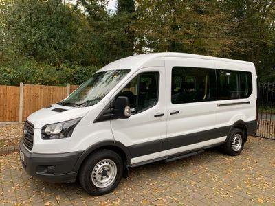 Ford Transit Minibus 2.2TDCi 410 HDT L3H2 15 Seater Bus EURO6