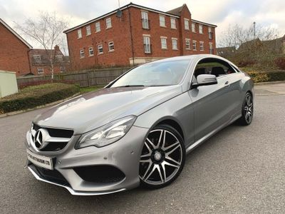 Mercedes-Benz E Class Coupe 3.0 E350 CDI BlueTEC AMG Sport 7G-Tronic Plus 2dr