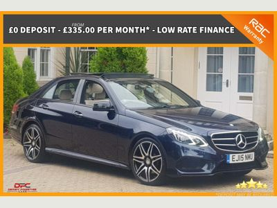 Mercedes-Benz E Class Saloon 2.1 E300 CDI BlueTEC AMG Night Edition (Premium Plus) 7G-Tronic Plus 4dr