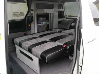 Toyota Alphard MPV Rock & Roll bed conversion