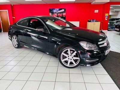 Mercedes-Benz C Class Coupe 2.1 C220 CDI BlueEFFICIENCY AMG Sport 2dr (COMAND)
