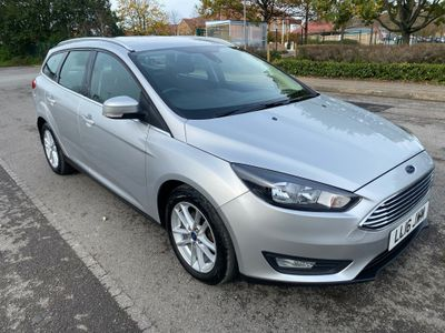 Ford Focus Estate 1.5 TDCi Zetec (s/s) 5dr