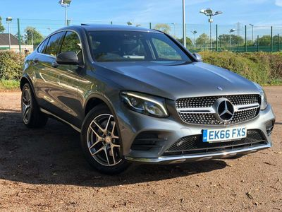 Mercedes-Benz GLC Class Coupe 2.1 GLC220d AMG Line (Premium Plus) G-Tronic 4MATIC (s/s) 5dr