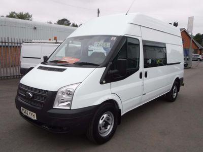 Ford Transit Combi Van 2.2TDCI T350 CREW/MESS/WELFARE VAN