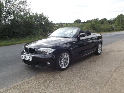 BMW 1 Series Convertible 2.0 118d M Sport 2dr