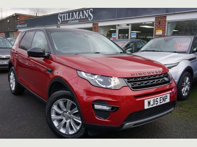 Land Rover Discovery Sport SUV 2.2 SD4 SE Tech 4WD (s/s) 5dr