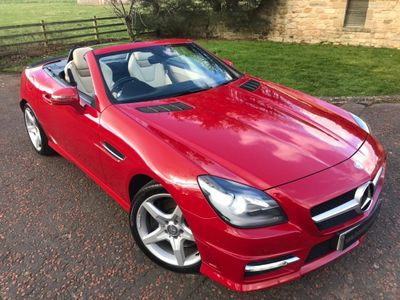 Mercedes-Benz SLK Convertible 1.8 SLK200 BlueEFFICIENCY AMG Sport 2dr