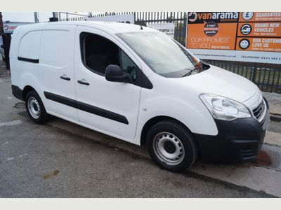 Peugeot Partner Panel Van 1.6HDi Blue 100 S MODEL L2 LWB (EURO 6)