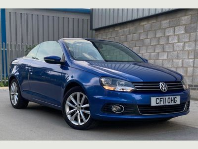 Volkswagen Eos Convertible 2.0 TDI BlueMotion Tech SE Cabriolet 2dr