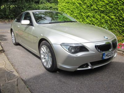 BMW 6 Series Coupe 4.4 645Ci 2dr