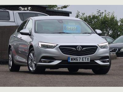 Vauxhall Insignia Hatchback 1.6 Turbo D ecoTEC BlueInjection SRi Nav Grand Sport (s/s) 5dr