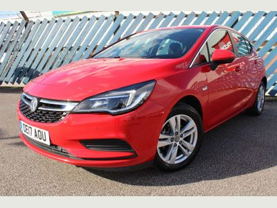 Vauxhall Astra Hatchback 1.4i Turbo Tech Line Auto (s/s) 5dr