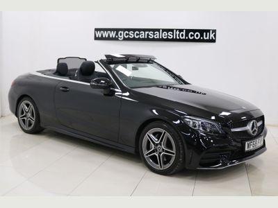 Mercedes-Benz C Class Convertible 1.5 C200 EQ Boost AMG Line (Premium) Cabriolet G-Tronic+ (s/s) 2dr