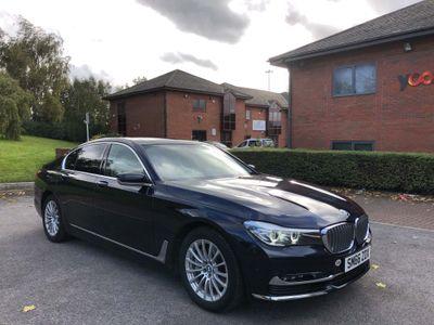 BMW 7 Series Saloon 3.0 730d Exclusive Auto (s/s) 4dr
