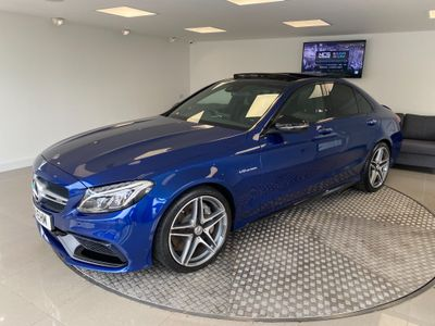 Mercedes-Benz C Class Saloon 4.0 C63 V8 BiTurbo AMG (Premium) SpdS MCT (s/s) 4dr