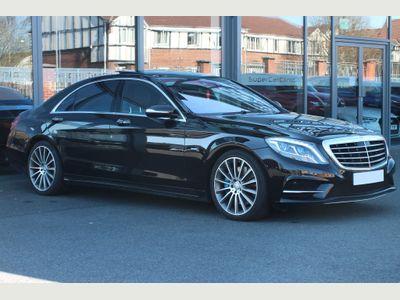 Mercedes-Benz S Class Saloon 3.0 S500L h AMG Line 7G-Tronic Plus (s/s) 4dr