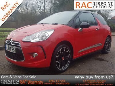 Citroen DS3 Hatchback 1.6 VTi DStyle Plus 3dr