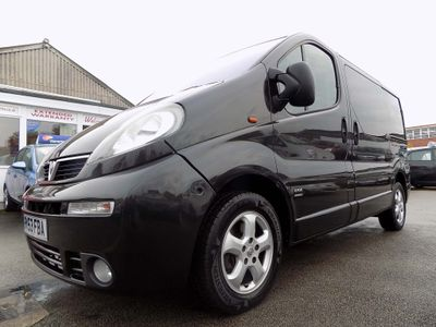 Vauxhall Vivaro Panel Van 2700 Sport DTi 6 Seater Crew Van
