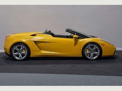 Lamborghini Gallardo Convertible 5.0 V10 Spyder E-Gear 4WD 2dr