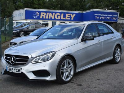 Mercedes-Benz E Class Saloon 3.0 E350 CDI BlueTEC AMG Night Edition (Premium) 9G-Tronic Plus 4dr