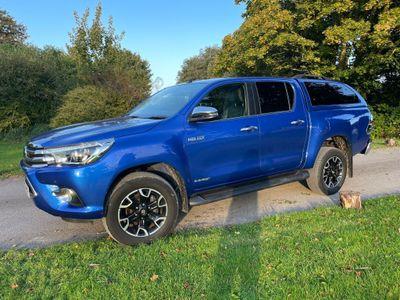 Toyota Hilux Pickup 2.4 D-4D Invincible X Blue Double Cab Pickup Auto 4WD EU6 (s/s) 4dr (TSS)