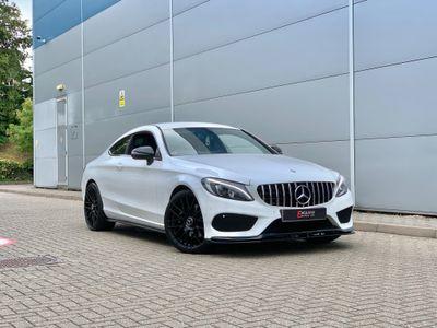 Mercedes-Benz C Class Coupe 2.0 C300 Sport 7G-Tronic+ (s/s) 2dr