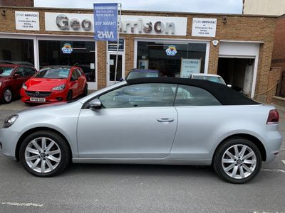 Volkswagen Golf Convertible 1.6 TDI BlueMotion Tech SE Cabriolet 2dr