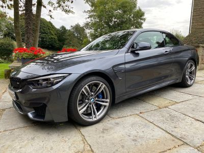 BMW M4 Convertible 3.0 BiTurbo GPF DCT (s/s) 2dr