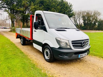 Mercedes-Benz Sprinter Chassis Cab 2.1 CDI BlueTEC 313 Chassis Cab 2dr MWB