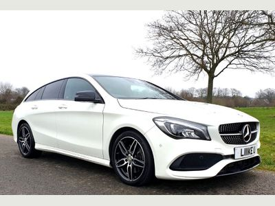 Mercedes-Benz CLA Class Estate 2.1 CLA220d AMG Line Shooting Brake 7G-DCT (s/s) 5dr