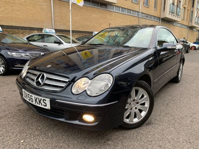 Mercedes-Benz CLK Coupe 1.8 CLK200 Kompressor Elegance 2dr