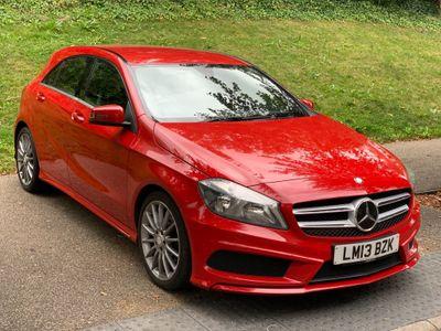 Mercedes-Benz A Class Hatchback 1.5 A180 CDI BlueEFFICIENCY AMG Sport 5dr
