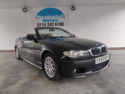 BMW 3 Series Convertible 2.0 320Cd SE 2dr