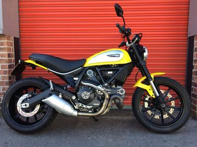 Ducati Scrambler 800 Roadster/Retro 800 Icon ABS Retro