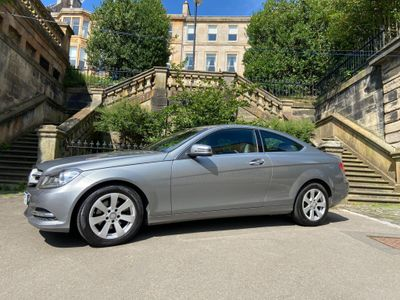 Mercedes-Benz C Class Coupe 2.1 C220 CDI SE (Executive) 7G-Tronic Plus 2dr
