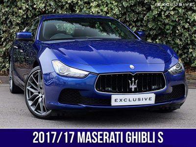 Maserati Ghibli Saloon 3.0 V6 S (Sport Pack) 4dr