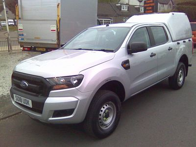 Ford Ranger Pickup 2.2 TDCi XL Double Cab Pickup 4WD (s/s) 4dr (Eco Axle)