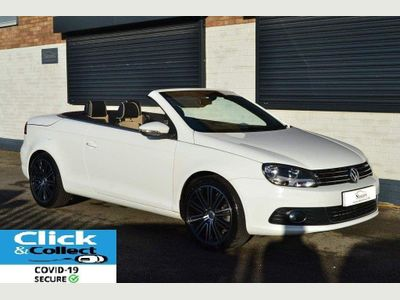 Volkswagen Eos Convertible 2.0 TDI BlueMotion Tech CR Exclusive Cabriolet 2dr