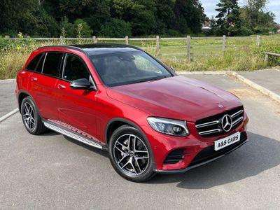 Mercedes-Benz GLC Class SUV 2.1 GLC220d AMG Night Edition (Premium Plus) G-Tronic+ 4MATIC (s/s) 5dr