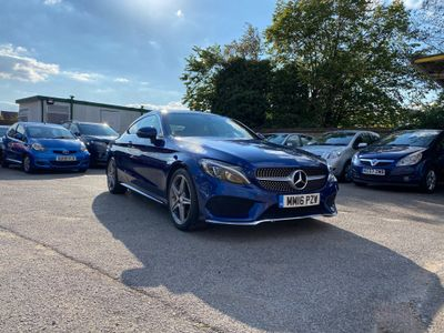 Mercedes-Benz C Class Coupe 2.0 C200 AMG Line 7G-Tronic+ (s/s) 2dr