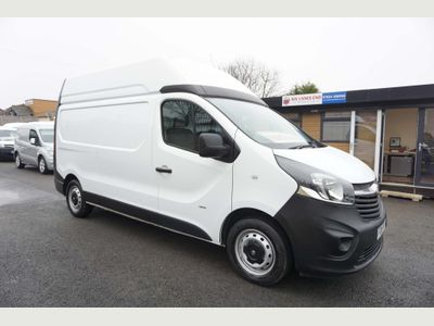 Vauxhall Vivaro Panel Van 1.6 CDTi 2900 High Roof Van 120PS