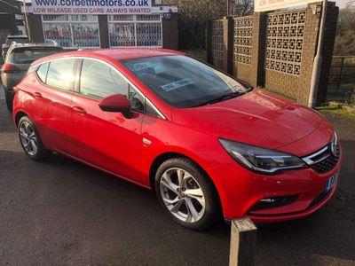 Vauxhall Astra Hatchback 1.4i Turbo Energy 5dr