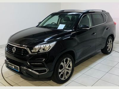 SsangYong Rexton SUV 2.2D Ultimate T-Tronic 4WD 5dr