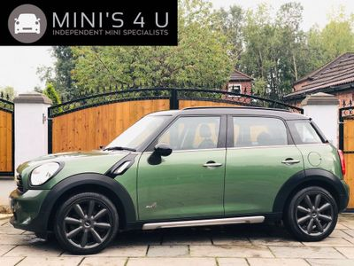 MINI COUNTRYMAN Hatchback 1.6 Cooper D ALL4 (s/s) 5dr