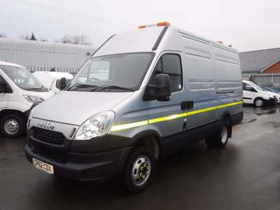 Iveco Daily Panel Van 3.0TD 50C17 MWB Mobile Jetting Unit
