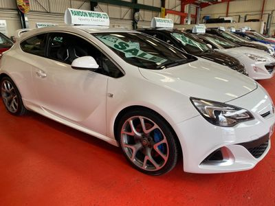 Vauxhall Astra GTC Coupe 2.0T VXR (s/s) 3dr EU5